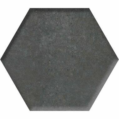 کاشی مودنا شش ضلعی مشکی گلدیس