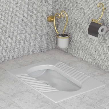 توالت زمینی آلیبرت سینا چینی