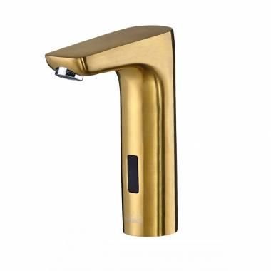شیر روشویی چشمی طلایی HD118 New بلندا