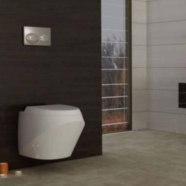 توالت فرنگی دیواری اورینت گلسار فارس