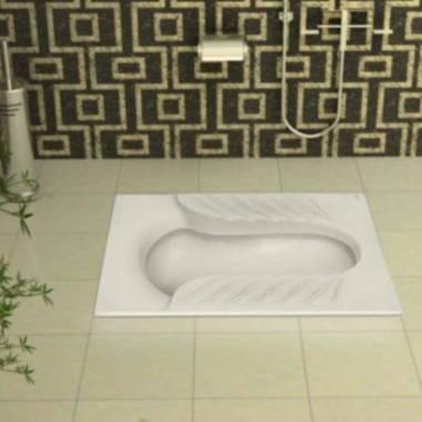 توالت زمینی یاس گلسار فارس
