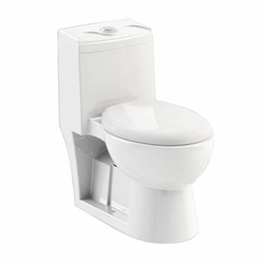توالت فرنگی لویزا بیده دار چینی کرد
