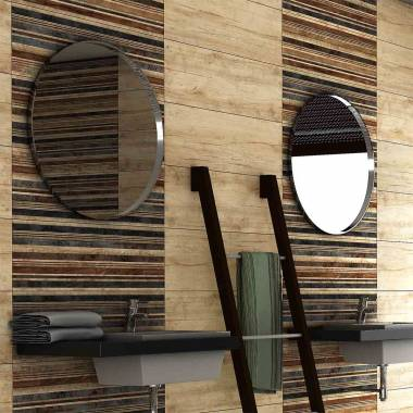 Modern Wood Cream Decor Rustic