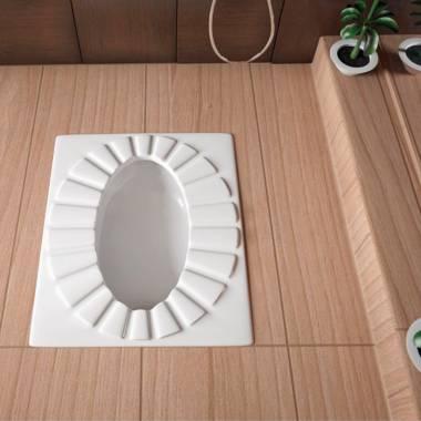 توالت زمینی کاسپین سینا چینی