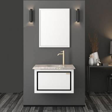 کابینت روشویی سفید پرشین فیورنزا
