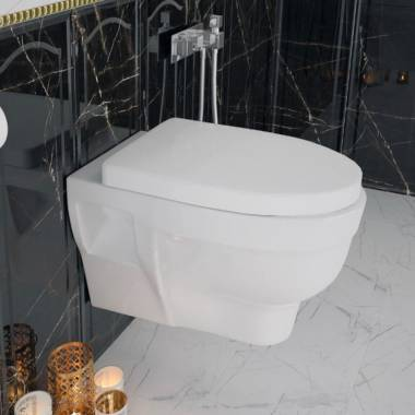 توالت فرنگی والهنگ آکوا سینا چینی
