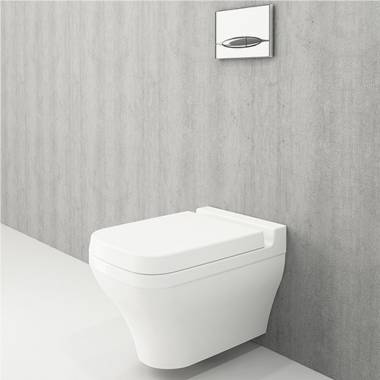 توالت فرنگی دیواری سفید براق اسکالا بوچی