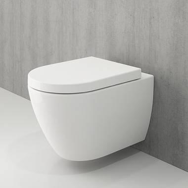 توالت فرنگی دیواری ونزیا سفید بوچی