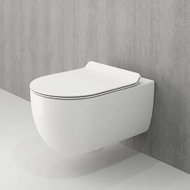 توالت فرنگی دیواری سفید و-تندو بوچی