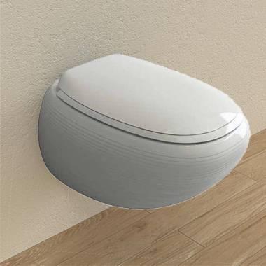 توالت فرنگی دیواری طوسی استراتا بوچی