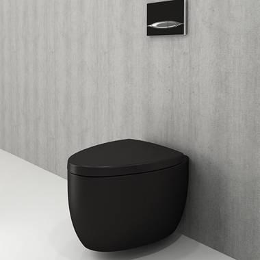 توالت فرنگی دیواری مشکی مات اتنا بوچی