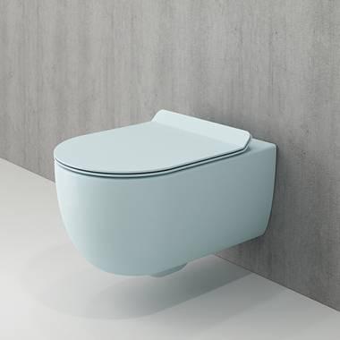 توالت فرنگی دیواری آبی و-تندو بوچی