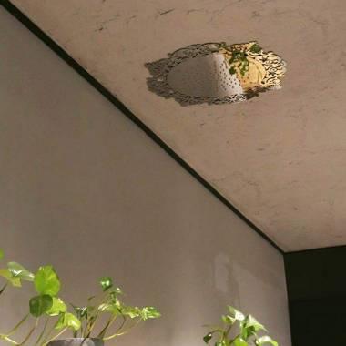 سردوش سقفی E044205 طلایی آلمار