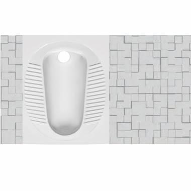توالت زمینی موندیال مروارید