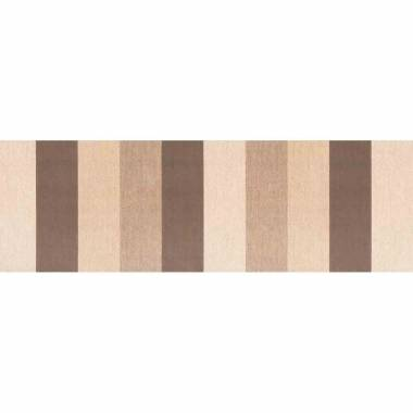 Linear Three Colors Brown Cream