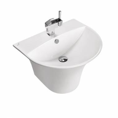 Silvia Half Pedestal Wash Basin